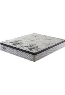 Colchão Casal Queen Size Com Molas Verticoil Smart Branco 158X198X24 - Ecoflex
