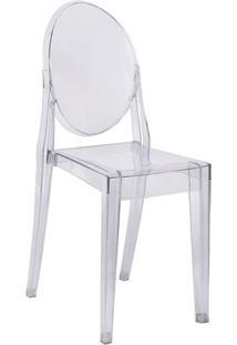 Cadeira De Jantar Invisible- Incolor- 90,5X40X35,5Cmor Design