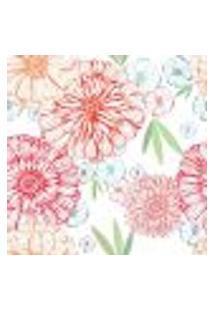 Papel De Parede Autocolante Rolo 0,58 X 3M - Floral 7