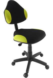 Cadeira De Escritório Secretária Giratória Verona Amarelo