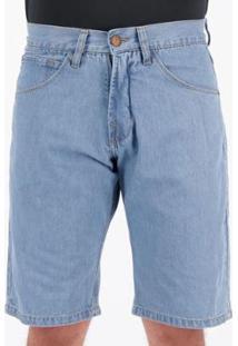 Bermuda Jeans Hd Fashion Deep Masculina - Masculino-Azul
