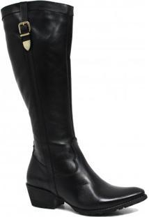f522d4b193c Bota Zariff Shoes Montaria Em Couro Fivela