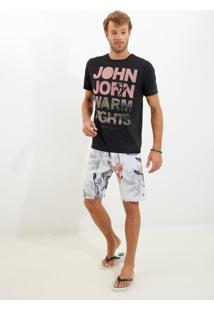 Bermuda John John D'Água Daydream Praia Estampado Masculina (Estampado, 36)