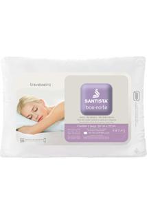 Travesseiro Boa Noite - Santista - Branco