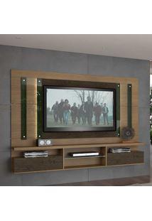 Painel Para Tv Até 55 Polegadas 1038 Imbuia/Málaga - Foscarini