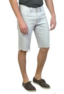 Bermuda Tradicional Slim Yck'S Off White