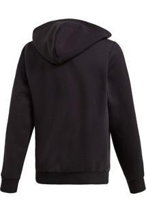 Jaqueta Adidas Yb E 3S Fz Hd Preto