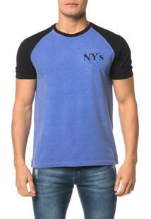 Camiseta Ckj Mc Estampa Nys Peito - Ggg