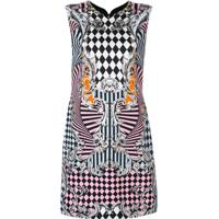 331851b1b8 Farfetch. Versace Vestido Estampado