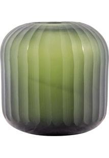 Vaso De Vidro Decorativo Redondo Simbel