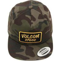 Boné Volcom Utility Verde Marrom 38846353b8c
