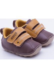 Sapato Ortopé Infantil - Masculino-Café