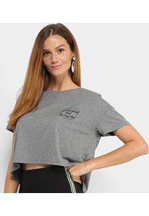 Camiseta Cropped Sommer Felling Fine Feminina - Feminino