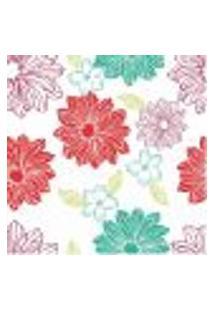 Papel De Parede Autocolante Rolo 0,58 X 3M - Floral 210213