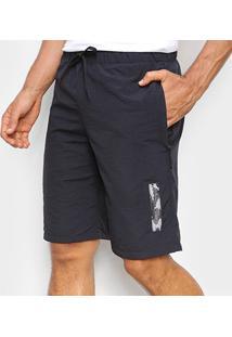 Bermuda Oakley Knit Masculina - Masculino-Preto