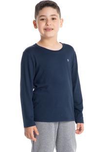 Pijama Infantil Masculino Longo Listrado Lucca