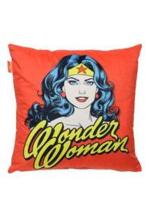 Capa De Almofada Wonder Woman Retrô Incolor