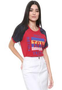 Camiseta Triton Follow Your Karma Vermelha