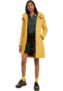Jaqueta Desigual Lisa Amarela