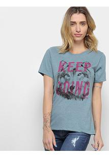 Camiseta Carmim Lobo Feminina - Feminino