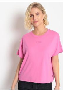 """Camiseta Com Bordado """"Levi'S®""""- Rosalevis"""