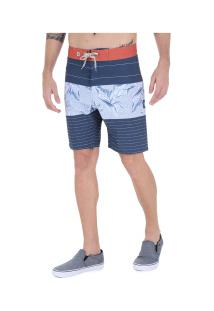 Bermuda Hang Loose Line Up - Masculina - Azul