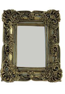 Espelho Casa Da Mãe Joana Capri Dourado