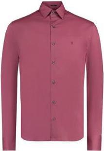 Camisa Vr Lisa Lycra Masculina - Masculino-Rosa