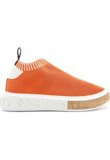 Sneaker It Schutz Bold Knit Orange   Schutz