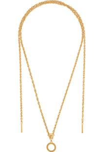 Versace Medusa Wrap-Around Necklace - Dourado