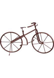 Bicicleta Decorativa Bijou Bronze