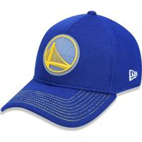Boné 3930 Golden State Warriors Nba Aba Curva New Era - Masculino-Azul Royal f7680c4047d