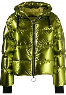 Ienki Ienki Short Padded Jacket - Verde