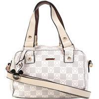 152517f7c Bolsa Gash Mini Bag Monograma Mickey Alça Transversal Feminina - Feminino -Bege