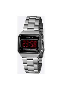 Relógio Feminino Lince Digital Led Ldm4647L Pxsx