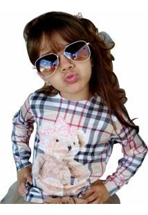 Blusa Infantil Yoyo Tricot Xadrez