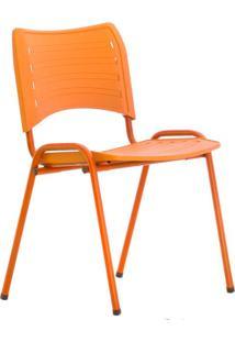 Cadeira De Escritório Interlocutor Evidence Color Laranja