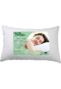 Travesseiro Malha 100% Algodão Bello Sonho - Master Comfort - Branco