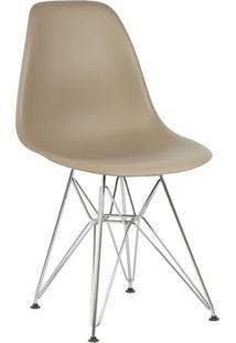 Cadeira Marrom Nude Charles Eames Eiffel Dsr Em Pp