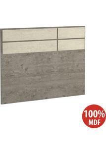Cabeceira Solteiro 100% Mdf 2297 Demolição/Marfim Areia - Foscarini