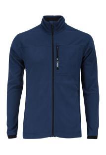 Jaqueta De Frio Fleece Adidas Tivid - Masculina - Azul Escuro