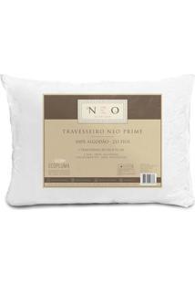 Travesseiro Neo Prime- Branco- 70X50Cm- Camesacamesa