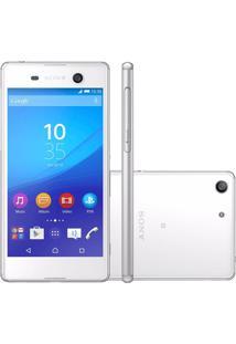 Celular Sony Xperia M5 E5653 Branco - 16Gb - Android 5.0