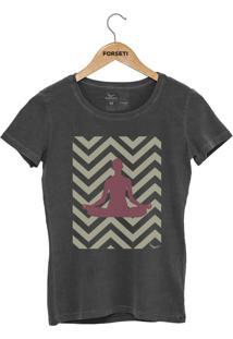 Camiseta Forseti Estonada Meditação Chumbo - Kanui