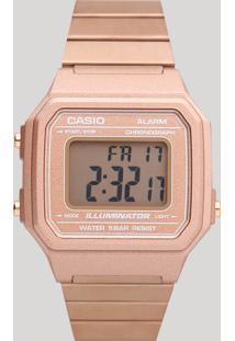Relógio Digital Casio Feminino - B650Wc5Adf Rosê