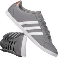 365dd925f Fut Fanatics. Tênis Adidas Vs Coneo Qt Feminino Cinza