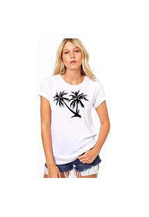 Camiseta Coolest Coqueiros Branco