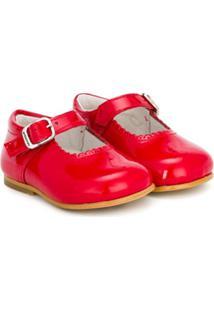 Andanines Shoes Sapatilha De Couro Envernizado - Red