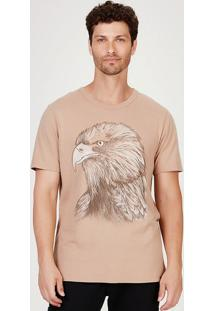 Camiseta Masculina Slim Super Touch Com Estampa