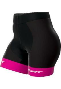 Bermuda Ciclismo Feminina Ert Pro Rosa - Feminino